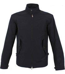 baracuta g4 original harrington jacket dark navy brcps0002