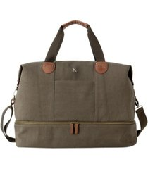 cathy's concepts personalized canvas travel luggage tote