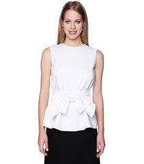 bluzka elegancka z odpinanym pasem