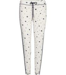long pants pyjamasbyxor mjukisbyxor vit pj salvage