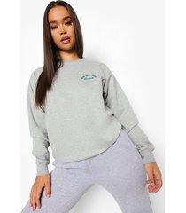 mindful sweater, grey marl