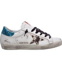 scarpe sneakers donna in pelle superstar