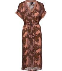 capri dress knälång klänning brun nü denmark