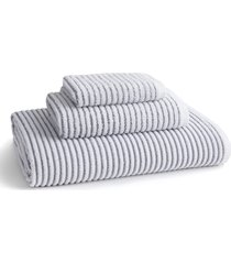kassatex sullivan hand towel, size one size - grey
