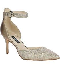 zapato mae dorado mujer nine west