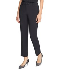 karl lagerfeld paris skinny fit mid-rise pants