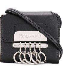 dsquared2 mini key crossbody wallet - black