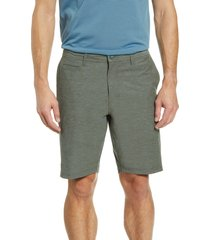 men's linksoul solid boardwalker shorts, size 40 - grey