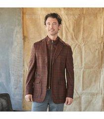 sundance catalog men's kramer jacket in rust 48 long