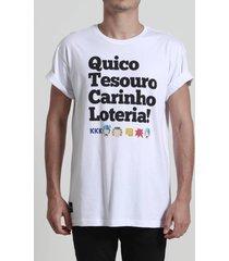 camiseta tesouro, loteria