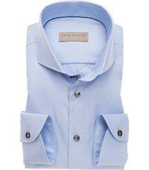 john miller shirt tailored fit lichtblauw