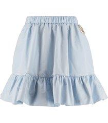moncler genius technical fabric mini-skirt