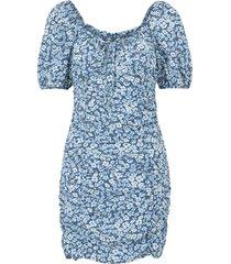 klänning onlfuchsia s/s short dress wvn