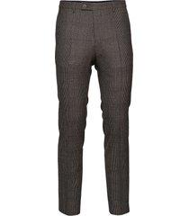 1691 - craig normal kostymbyxor formella byxor grå sand