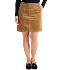 charter club corduroy a-line skirt, created for macy's