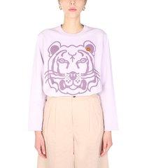 kenzo k-tiger crew neck sweatshirt