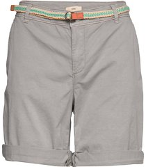 shorts woven shorts chino shorts grå esprit casual