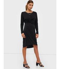 object collectors item objlisa l/s dress 107 långärmade klänningar