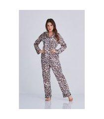 pijama onça nicole cloá