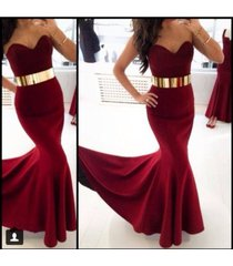 on sale sexy burgundy sweetheart mermaid prom dress/formal /party/evening dress