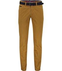 meyer pantalon mosterdgeel model chicago