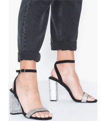river island twinkle block heel high heel