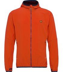 featherweight jacket tunn jacka orange lyle & scott sport