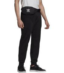 pantalón negro adidas 3d trifolio