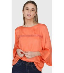 blusa naranja nano valeria 0820