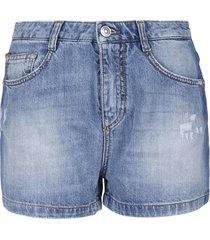 classic 5 pockets denim shorts