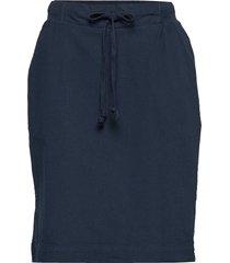 naya skirt kort kjol blå kaffe