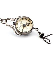 drobina czasu (black) - zegarek wisiorek
