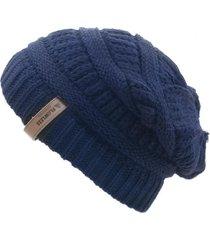 gorro de lana beanie kold blue flaw