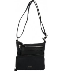 cartera luigi casual negro azaleia
