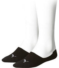 puma sokken footie 2-pak zwart