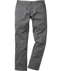 pantalone 5 tasche regular fit straight (grigio) - bpc bonprix collection