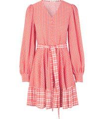 farrow dress in plaid