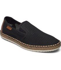 b5276-00 loafers låga skor svart rieker