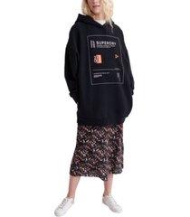 superdry bora oversized sweatshirt