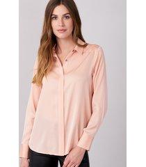 zijden dames blouse