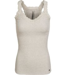 america today singlet gracie beige