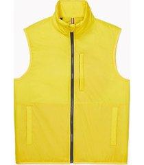 tommy hilfiger men's essential lightweight vest sulphur - xxxl
