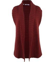 gilet in maglia (rosso) - bpc bonprix collection
