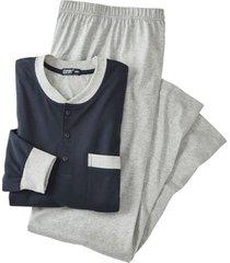 pyjama, nachtblauw xl