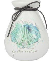 vaso kasa ideia de cerâmica 18x12cm - tricae