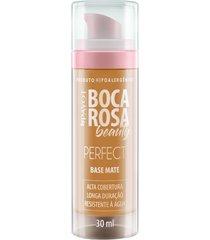 base líquida matte hd 30ml 4 antonia - boca rosa beauty by payot único
