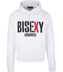man white bisexy dsquared2 hoodie