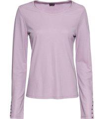 maglia a maniche lunghe con strass (viola) - bodyflirt