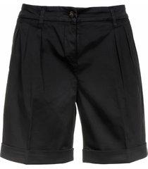 fay fay black shorts