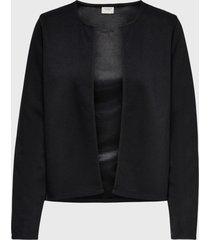 blazer  jacqueline de yong negro - calce regular